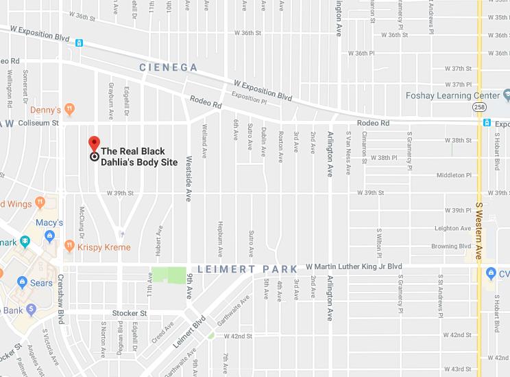 Map of LA Area