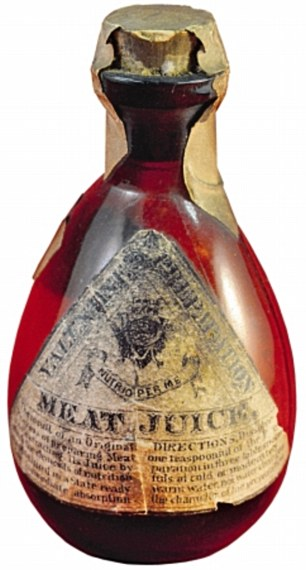 Meat Juice bottle that contained arsenic