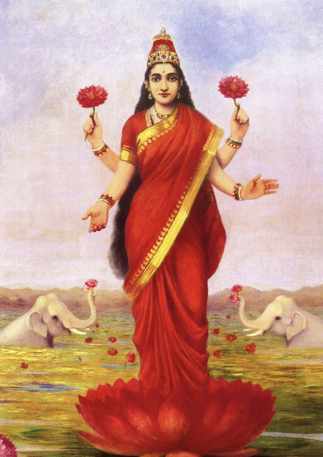 Treasure 02 - Lakshmi or Sri the Goddess of Fortune