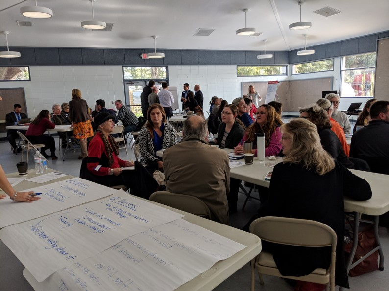 St. Augustine: Community Values and Cultural Resources  was a community workshop managed by The Craig Group and sponsored by Flagler College in cooperation with the City of St. Augustine. Funding provided by the National Trust for Historic Preservation.