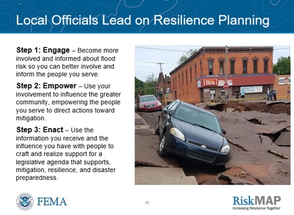 Building Relationships and Resilience Through Floodplain Mapping in Lake St. Clair Communities  was a webinar created by The Craig Group in partnership with Resilience Action Partners for FEMA Region V public officials in the Great Lakes Region.