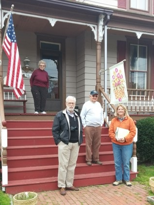 The  Weather It Together  field team on a technical assistance visit to Crisfield, Maryland in 2014.