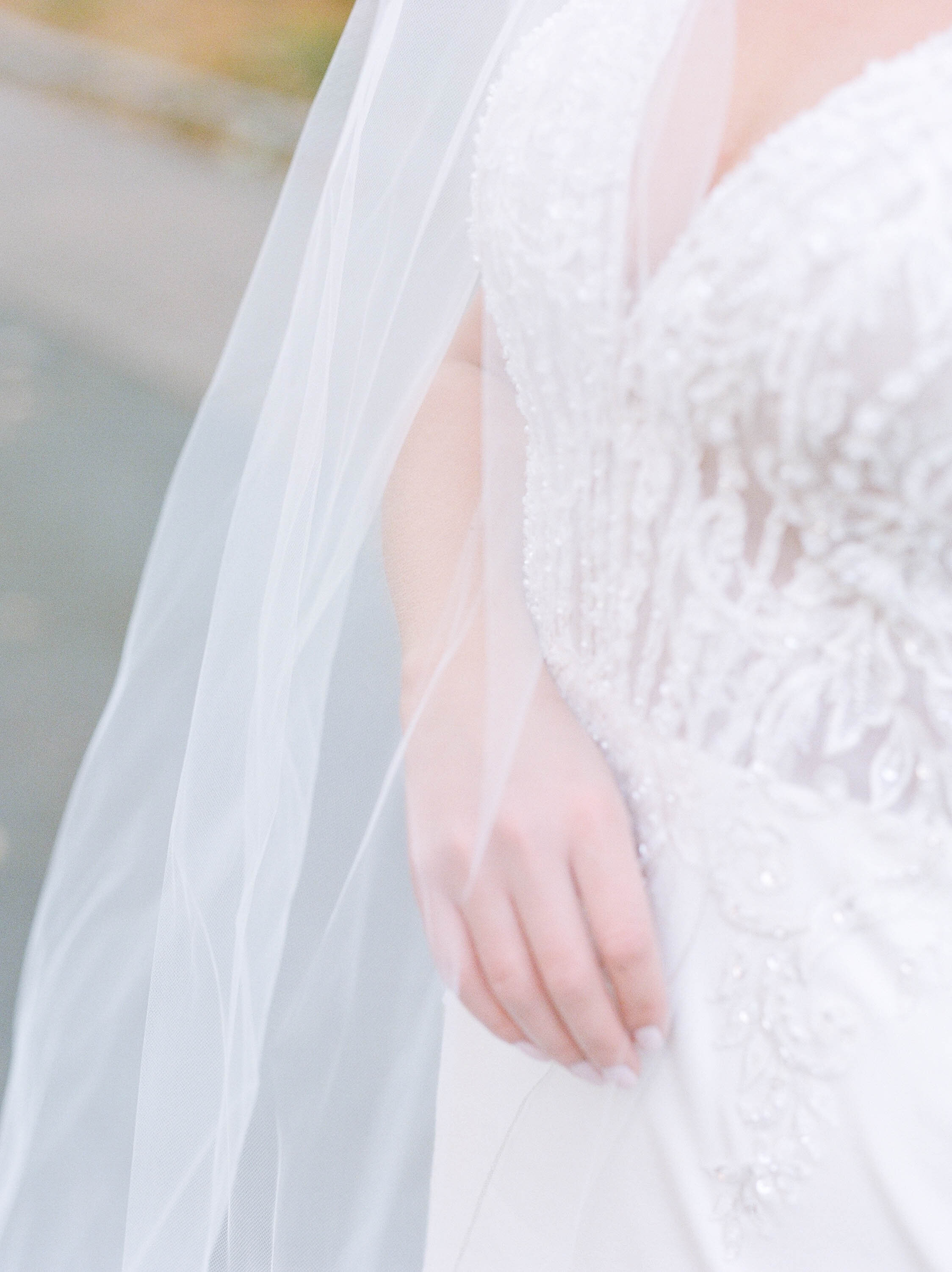 Fine Art Bride Editorial with Justin Alexander wedding gown at Princeton University