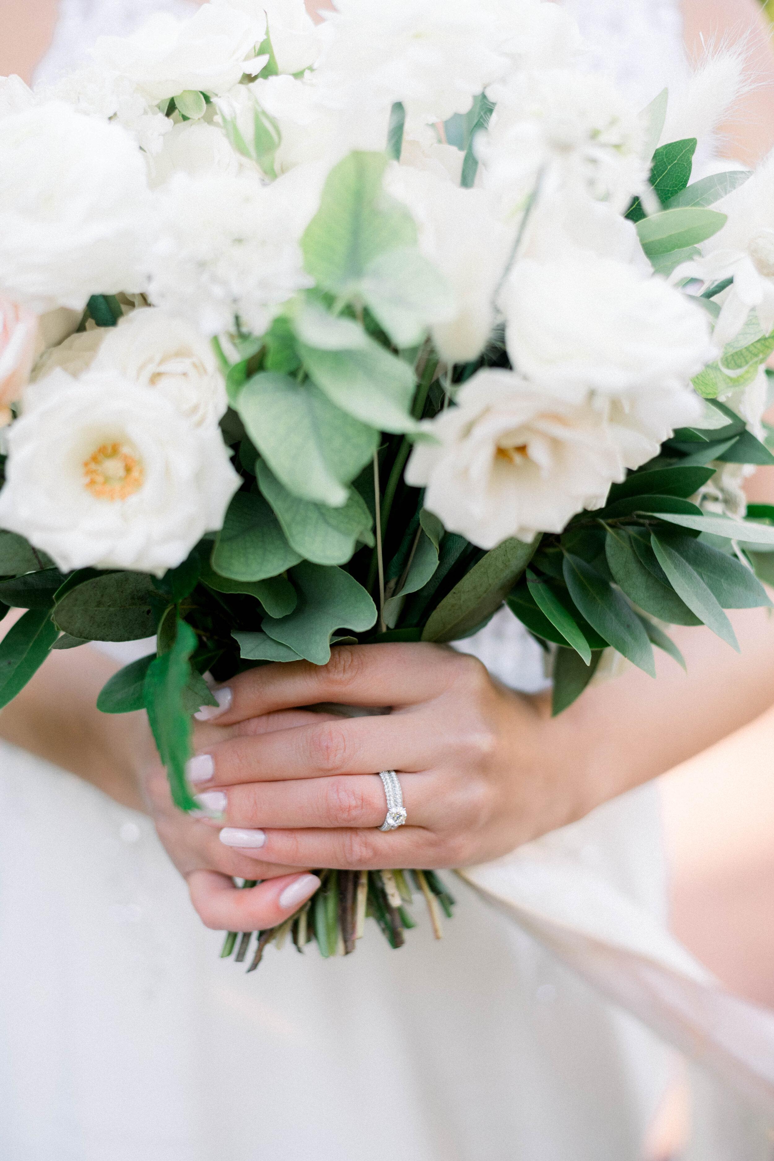 Fine Art Bride Editorial at Princeton University with Hamilton Jewelers and Cassandra Shah Flowers