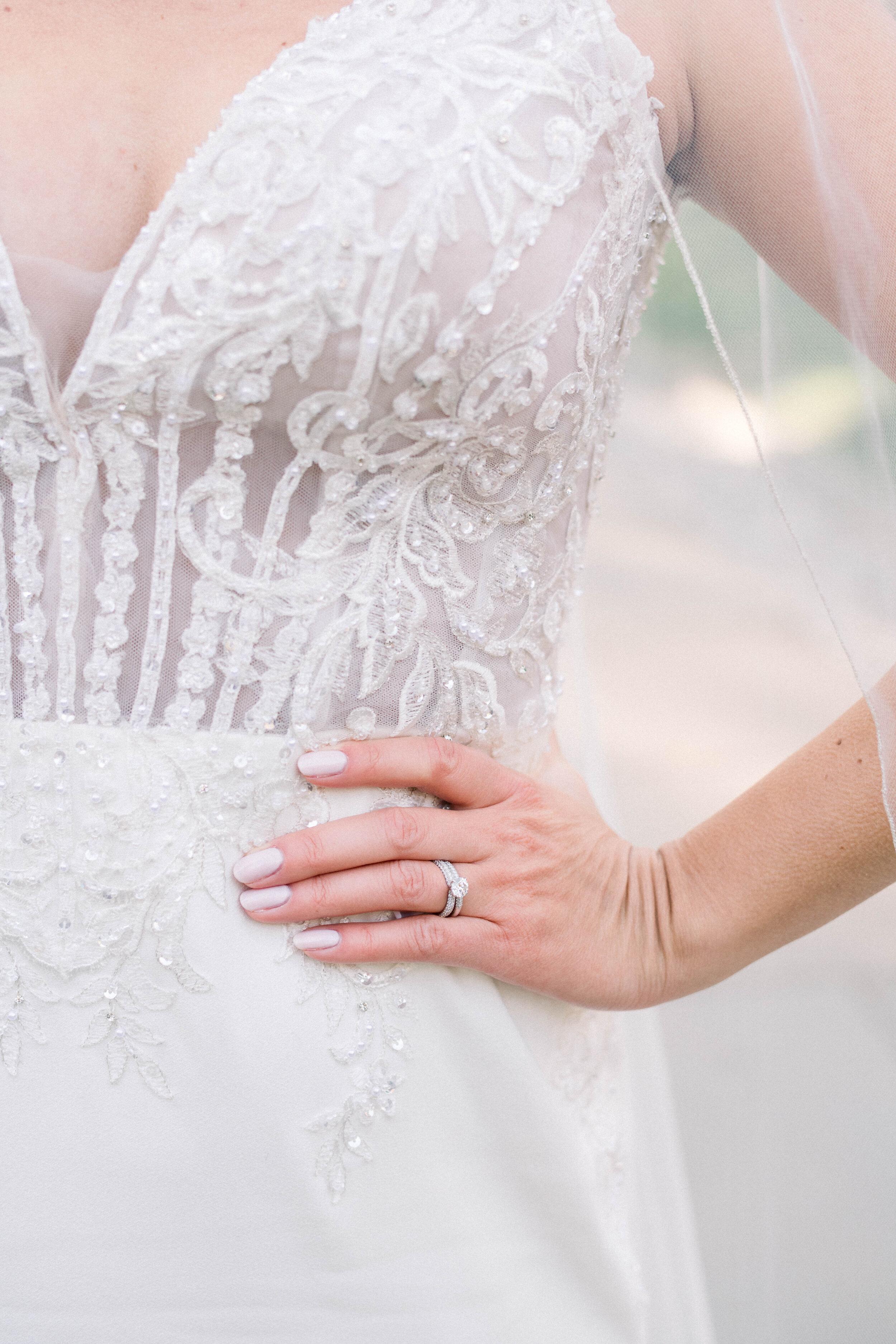 Fine Art Bride Editorial at Princeton University with Justin Alexander wedding gown