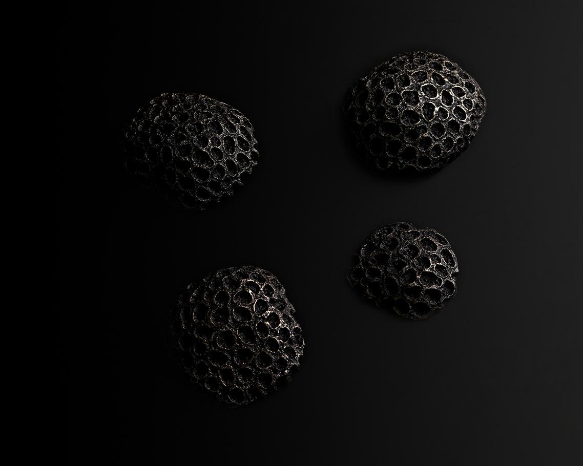 Naji - ◯ - 4 bronzes - 2017