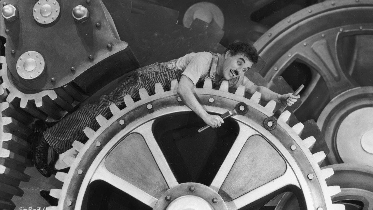 Modern Times, Chaplin