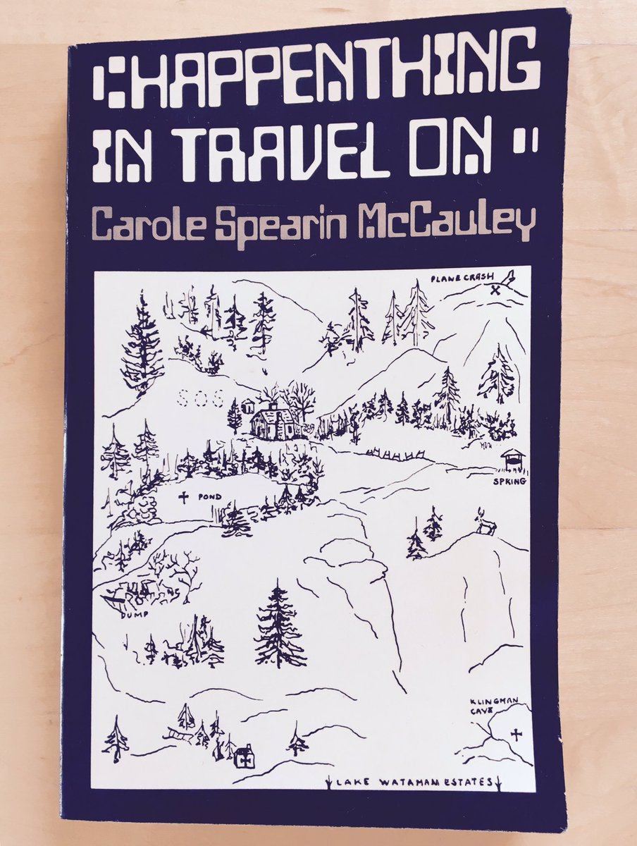 Carole Spearin McCauley,  Happenthing in Travel On,  1975 (Image from James Ryan @xfoml twitter)