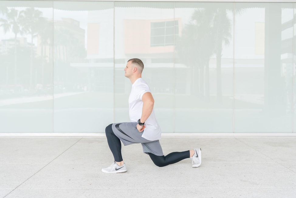 How to do stationary lunges in 4 easy steps
