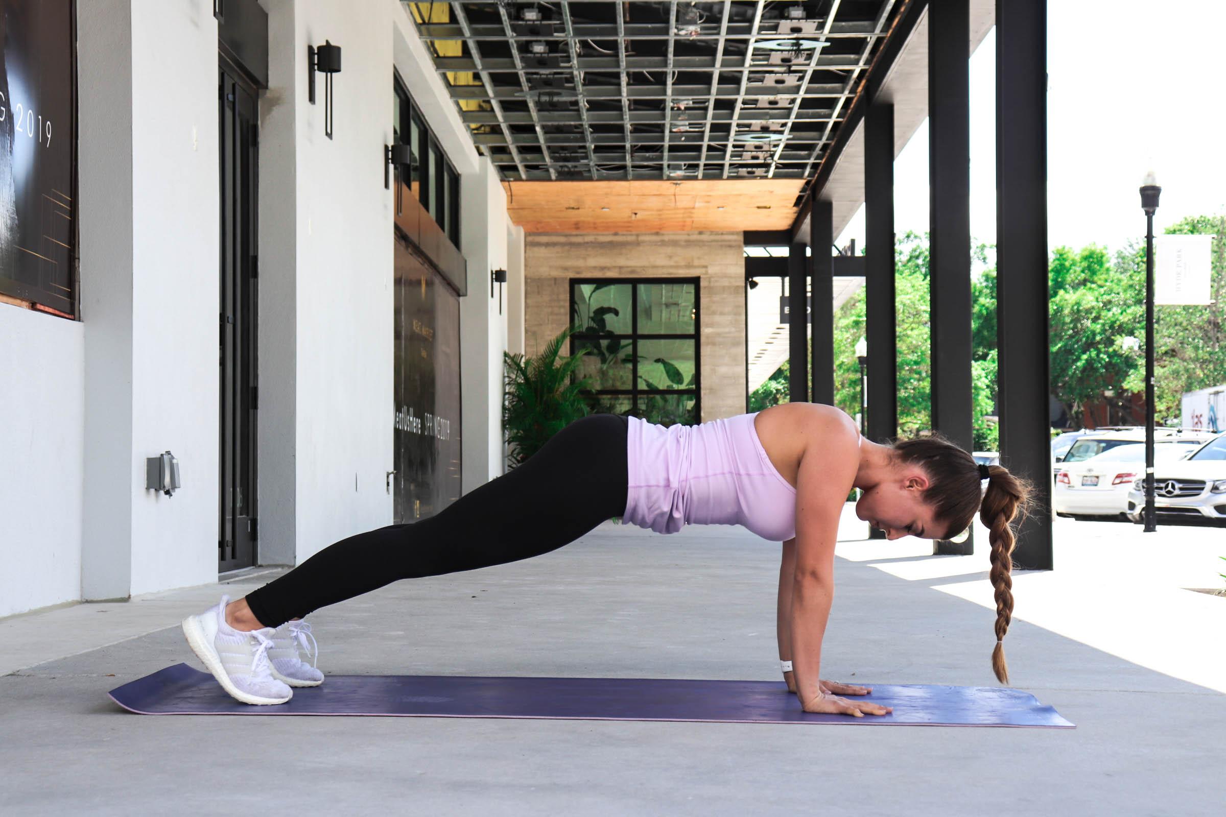 Scapular Push-Up  workout