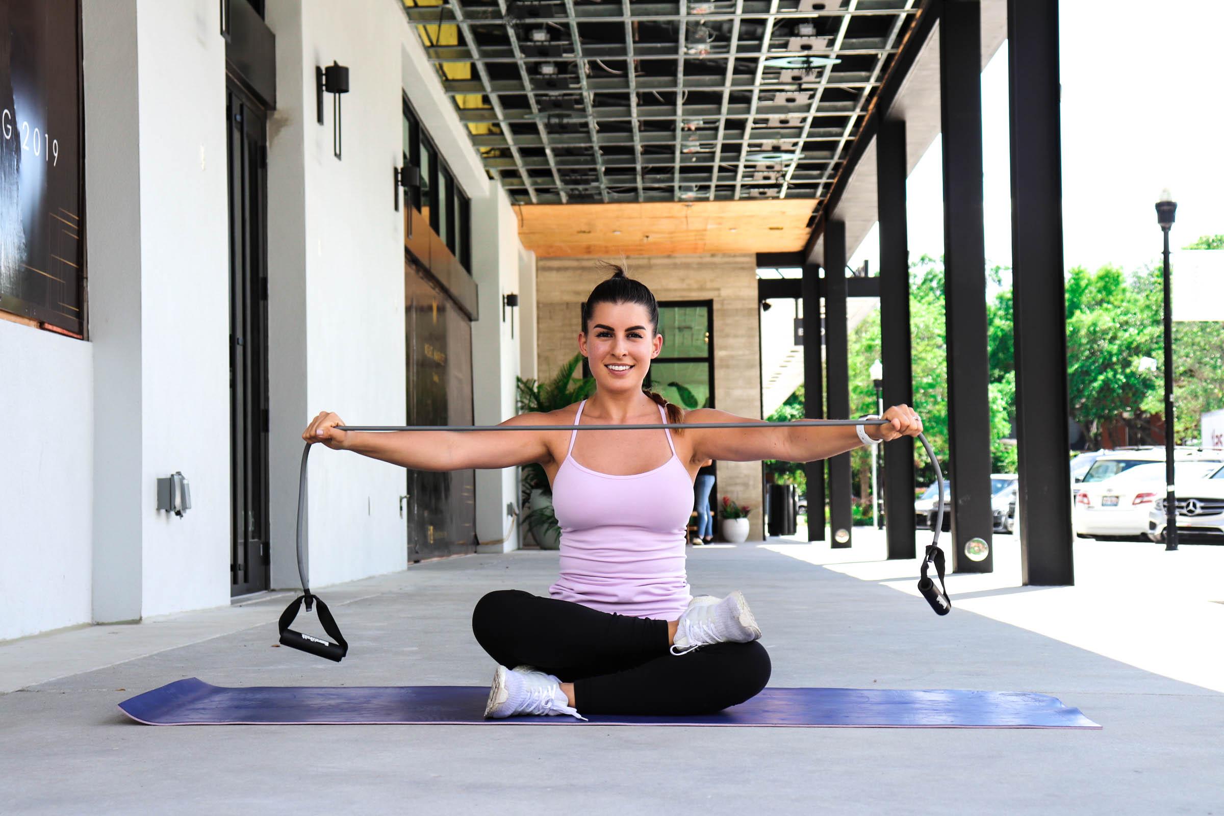Banded Shoulders workout
