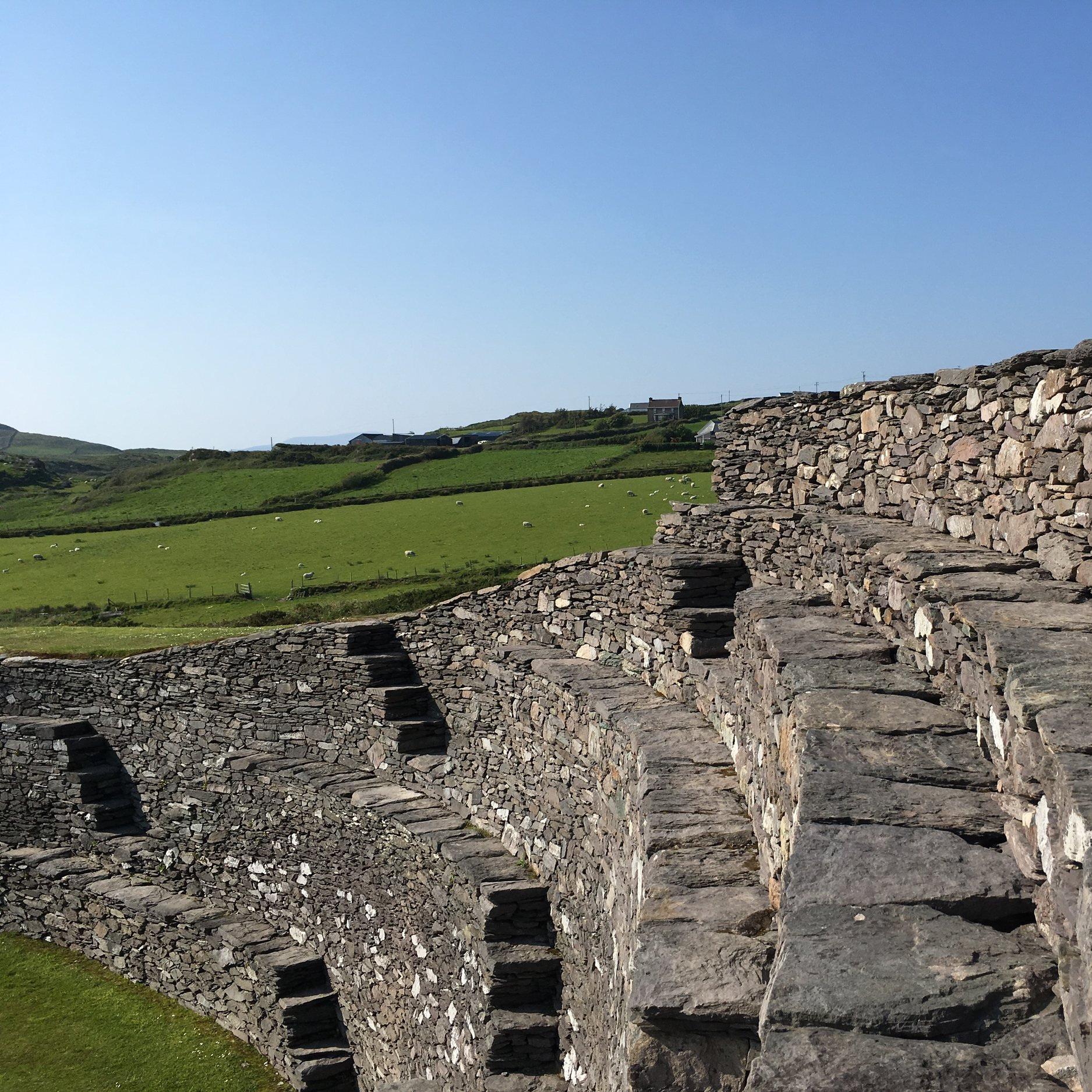 Cahergal Stone Ring Fort Cahersiveen