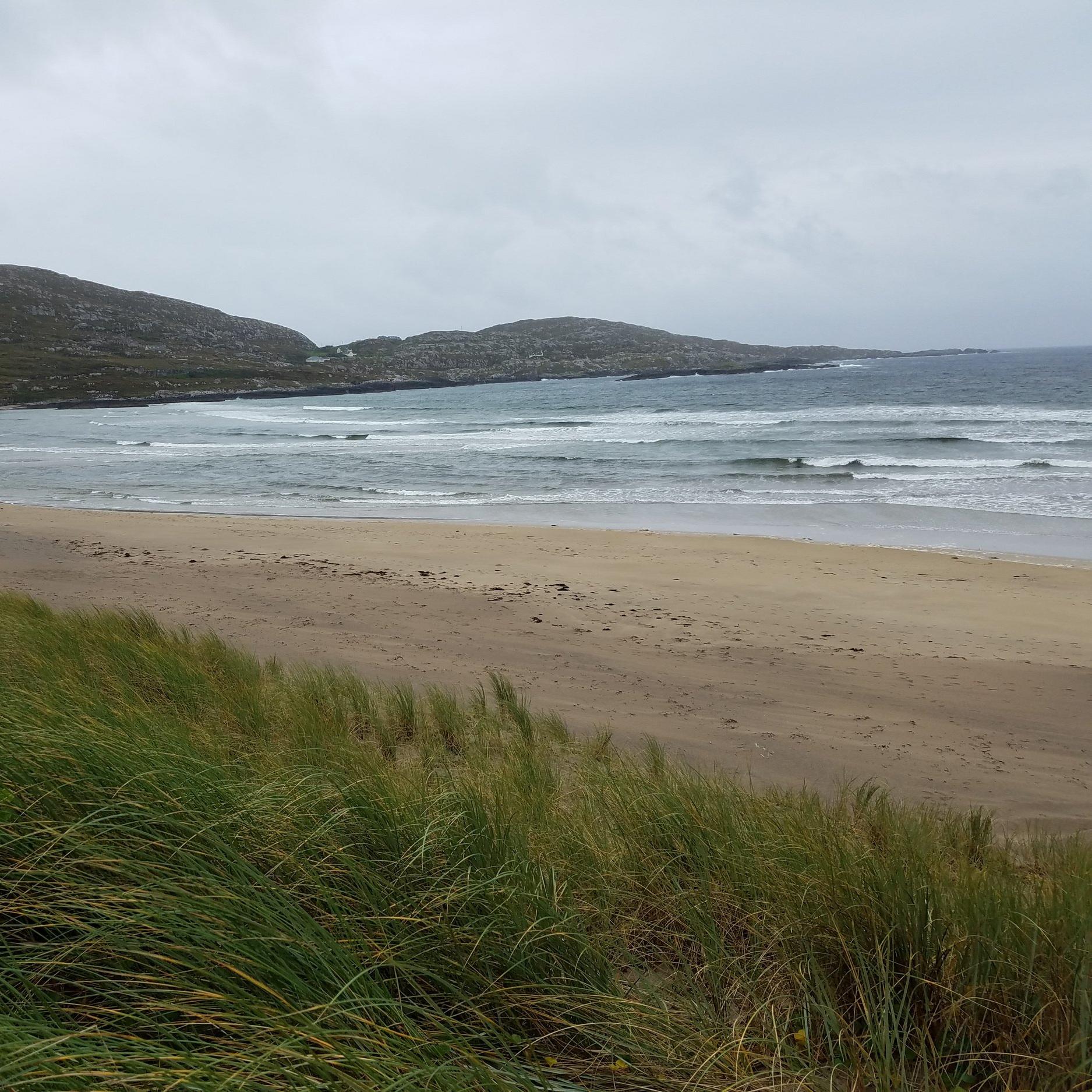 Derrynane Beach white sand