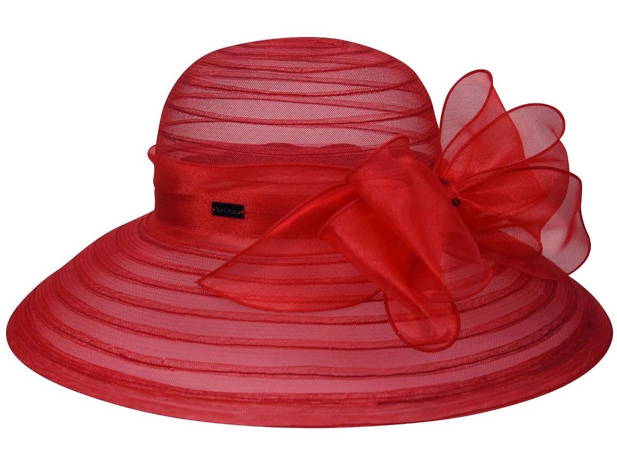 Valentina Asymmetric Wide Brim Occasion Hat by Betmar