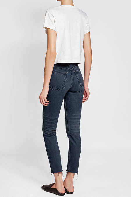 For jeans, we love  RE/DONE's High Rise Cropped