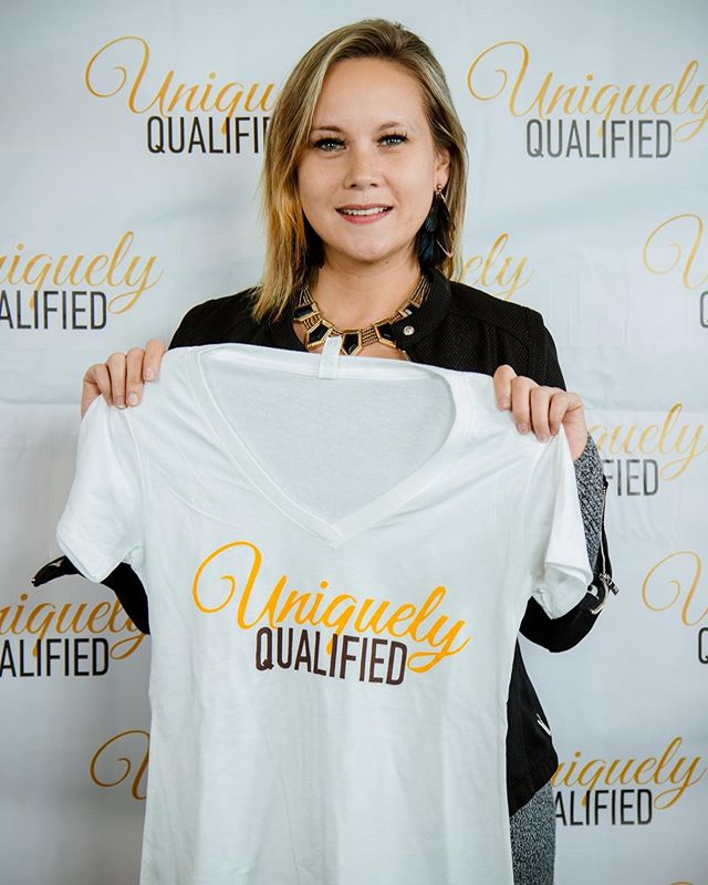 Do you have your Uniquely Qualified shirt?? We've got some really cool items available in the UQ store at www.IAmUniquelyQualifed.com💛 . . Send us your photos wearing Uniquely Qualified gear so we can share 😊