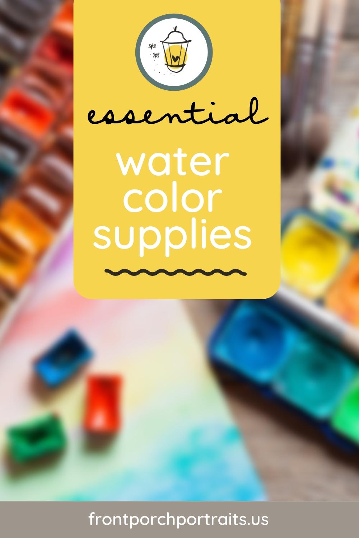 essentialwatercolorsupplies