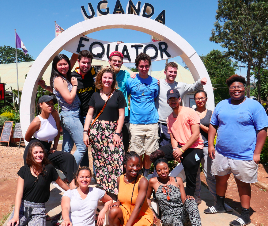 The group at the equator