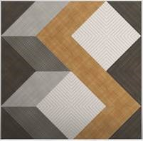 Plyboo Fractal Bamboo Panels in Mixed Colors and Patterns