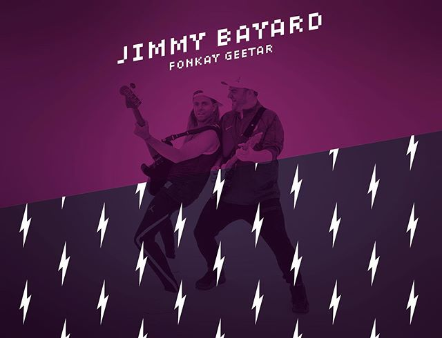 Meet our guitar player @jimmybayard - he not only is one of the nicest and kindest humans on earth, this Texas born guitarist can absolutely shred! His resume consists of working with artists such as Prince, Judith Hill, Shelby J, NPG, Marva King, Liv Warfield and Alexander O'Neal! He also has one of hell of a vintage guitar collection! . . #guitar #funk #funky #Minnesota #guitarist #sweatbandfunk