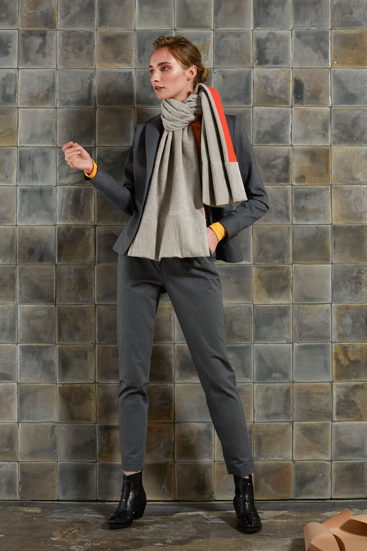 Oversized Cord-Schal