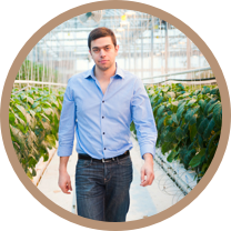 Mohamed Hage,  Founder and CEO, Lufa Farms