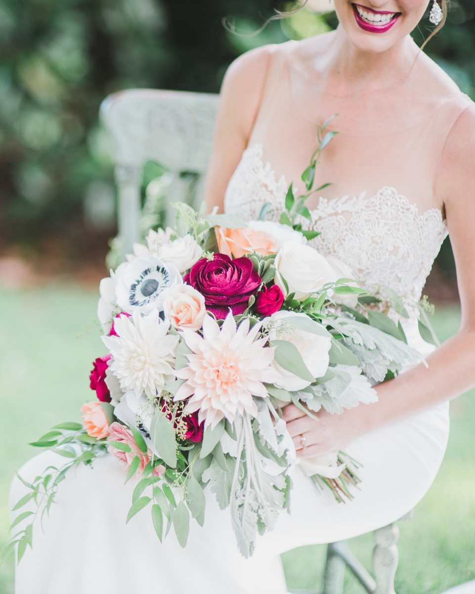 Custom Bridal Bouquets - Flowers and dreams are handmade from paper. Let us create your florals for your special day! Choose your flowers and mix and match a variety of colors from our palette.