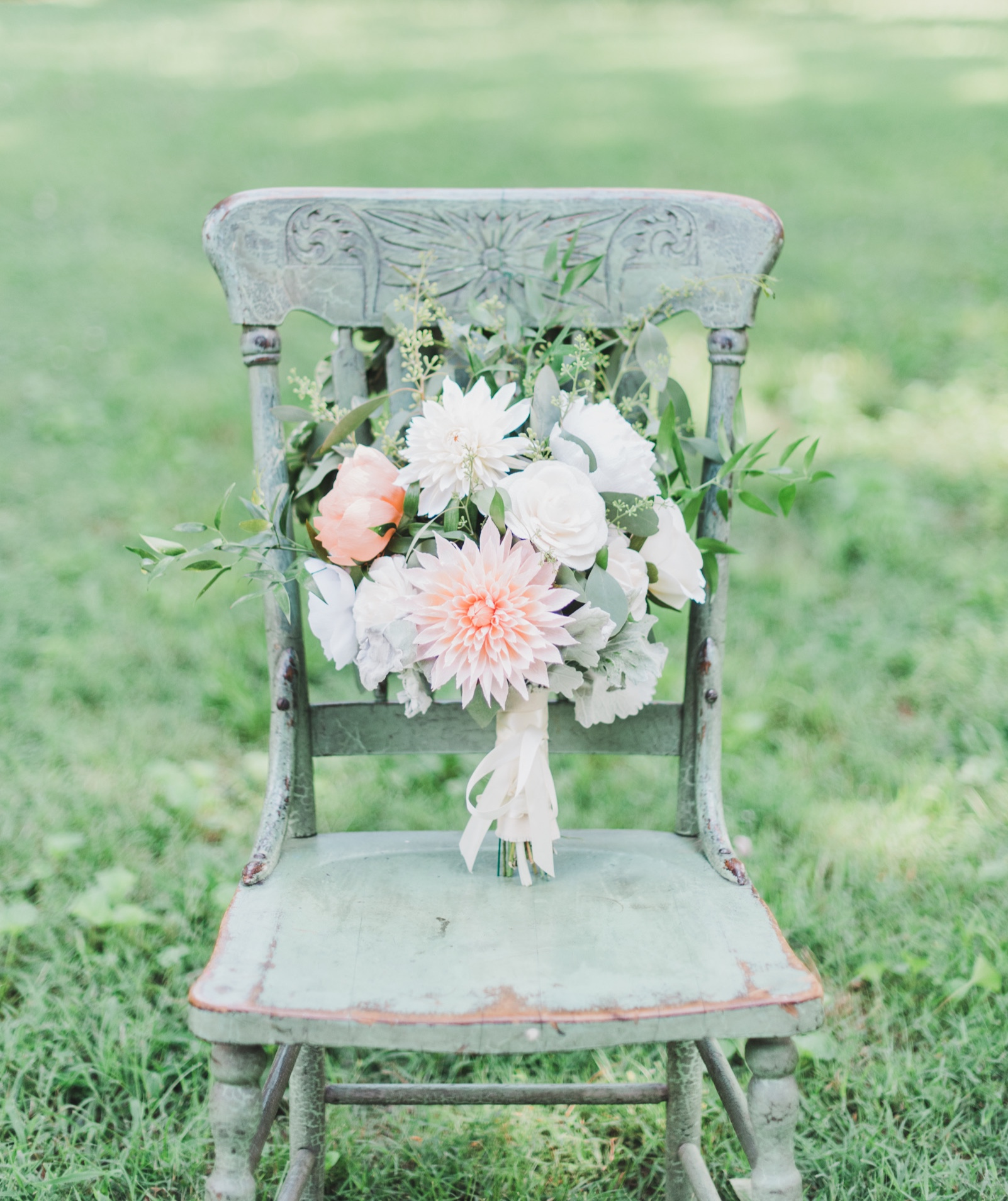 Bridal Bouquet Recreation - With your wedding come and gone, are you wishing you could hold your bridal bouquet one more time? We can recreate your wedding flowers for you to hold for years to come!