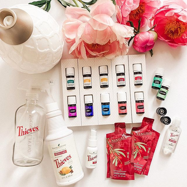 A flash sale? Yes, please! 👏🏼💃🏼🌈💕🦋 For the rest of May, you will receive a full size bottle of Thieves Household Concentrate and a glass spray bottle when you purchase your oils starter kit. 😱 Such a steal!!! We use our cleaner for absolutely everything, and the bottle will still last you 6–12 months! Ready to join our squad? Send me a dm! So grateful for how these oils have impacted our quality of life and how we approach wellness. . . . . . #essentialoils #premiumstarterkit #psk #yleo #younglivingessentialoils #nontoxic #cleanliving #flashesofdelight #jacimariepresets #abmhappylife #darlingmovement #thievescleaner