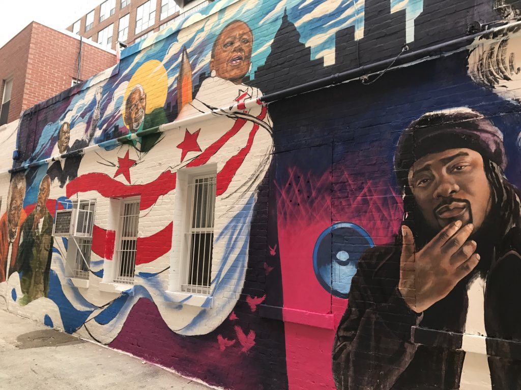 June 21, 2017 - New mural unveiled on Ben Ali Way