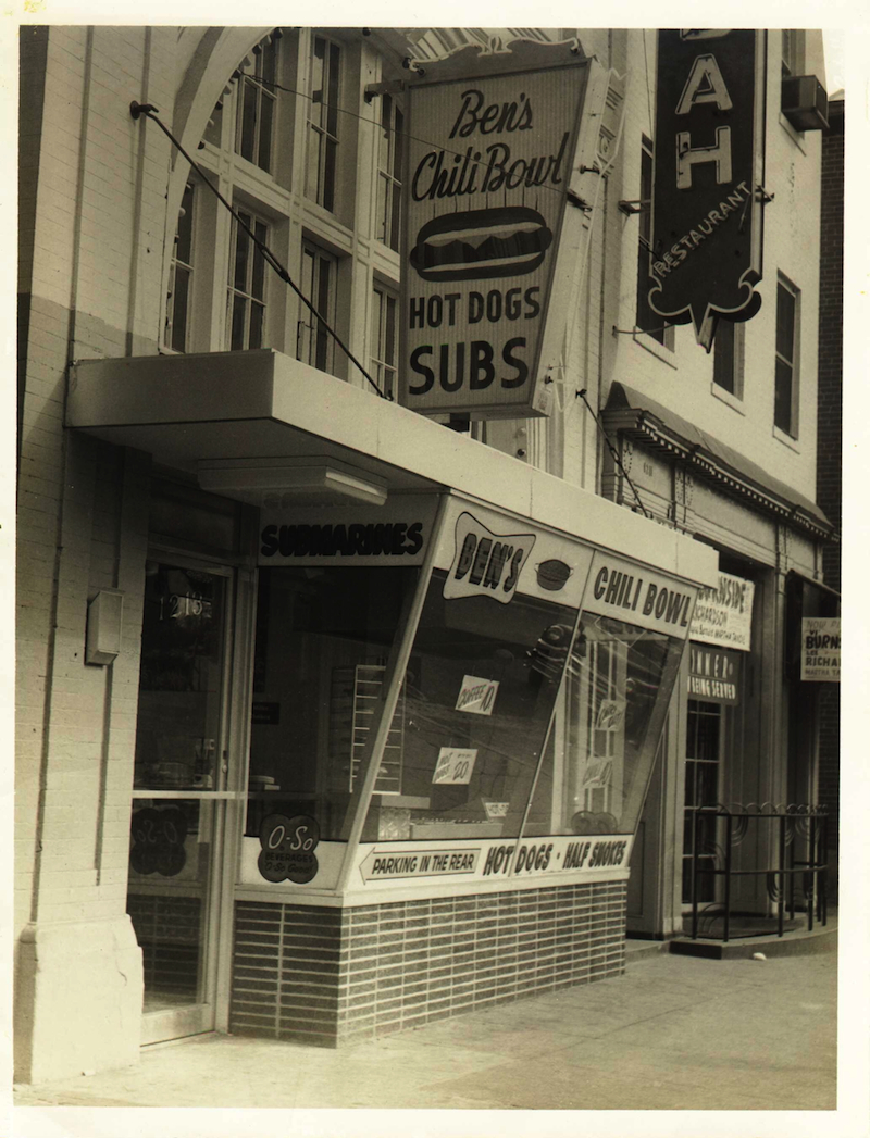 August 22, 1958 - Ben's Chili Bowl opens for business on U Street