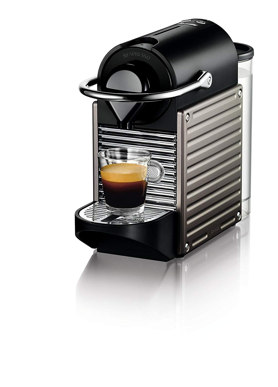 $249 - Nespresso Pixie Machine w/ Milk Frother | We keep this sucker in our bedroom and sharing an espresso before we come downstairs and wake the monsters has been a game changer for all of life.