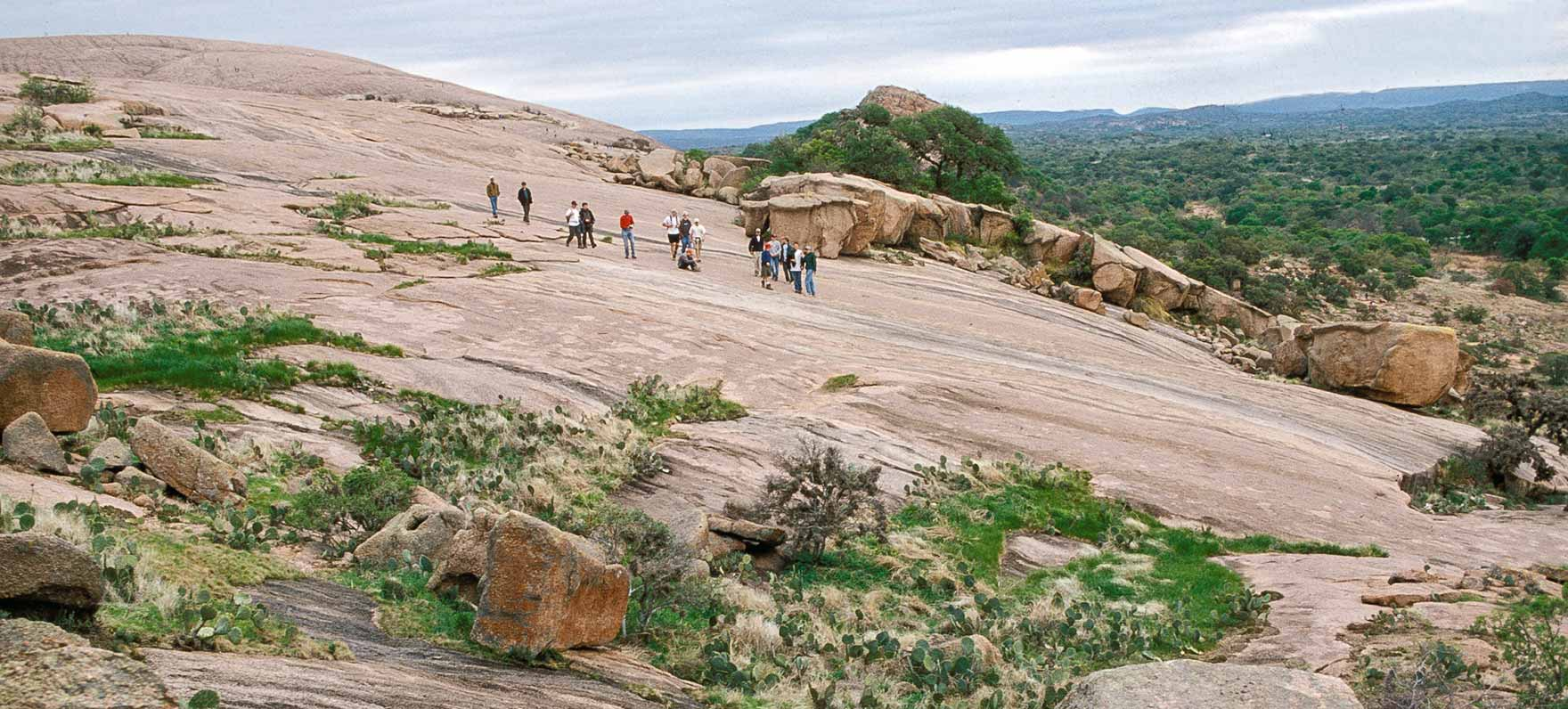 Photo Taken From  Enchanted Rock  State Site