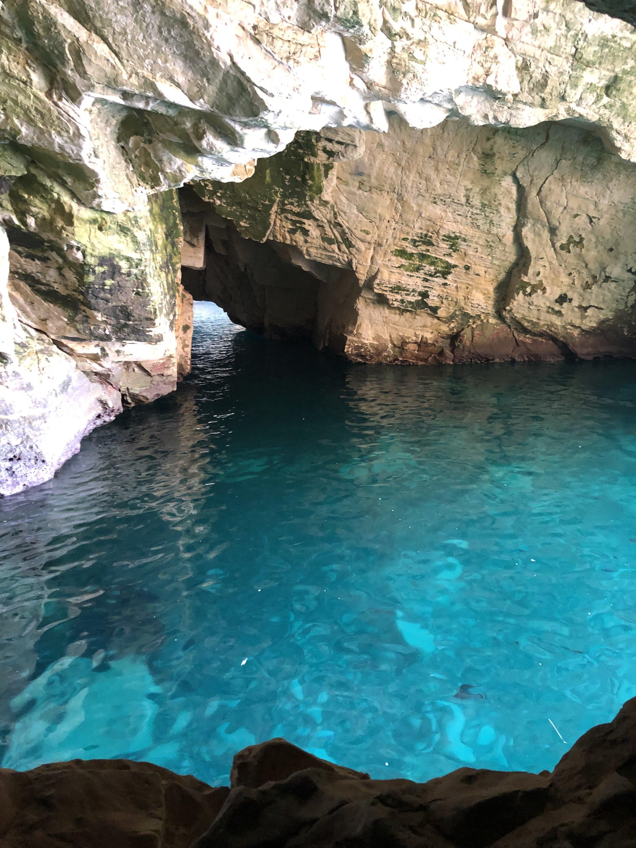 Cave near Lebanese Border