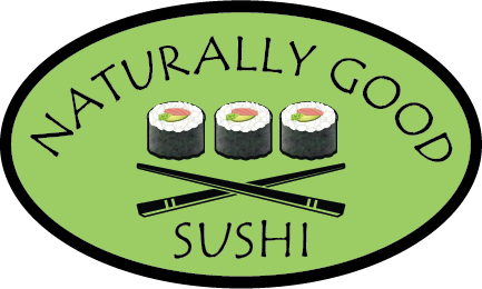 Naturally Good Sushi Homepage Logo