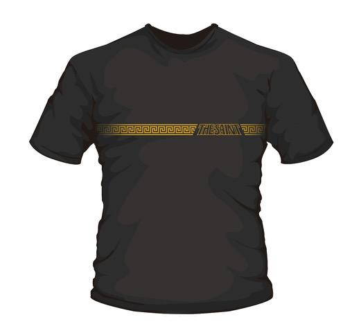 Official Saint t-shirt - Designed for the current edition of The Black Party, this black T-shirt wears well with any combination. Gold logo, 100% Cotton. Avail Med and Large sizes.SHOP HERE