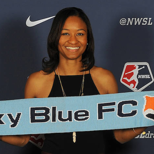 "Imani Dorsey Professional Soccer Player Sky Blue FC 2018 NWSL Rookie of the Year Former College All-American   ""The demands of elite women's soccer occasionally create an overwhelming environment and subsequent chaotic mindset for a player. However, during my senior season as a captain for the Duke Women's Soccer Team Dr. Dale helped me find stability and confidence that bolstered my personal performance and ability to lead. By focusing on the attributes of my game and personality that made me a talented player and good teammate, Dr. Dale helped me realize the special qualities I solely possess made me uniquely qualified to inspire, guide, and unite my team, amidst the chaos."""