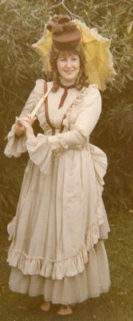 Aged 17 as Winnie Tate - Annie Get Your Gun