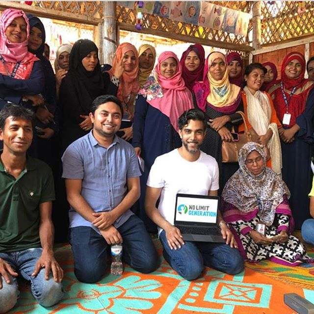 """We just trained 26 female Rohingya teachers on the No Limit Gen platform inside the world's largest refugee camp. We had a wonderfully interactive day of learning about how to create safe, supportive environments where children can heal, and rise into their full potential. .  One of our biggest questions before piloting was: Will this content and our digital format resonate and engage? That question has been more than answered. Some of the responses we got after the training: . """"I now understand what these children have gone through, so I will be more loving and caring in my approach with them"""" . """"I will be more respectful and mindful when I care for children, because I see now that I am their role model."""" . """"I thought that education and play would be enough to heal the child, but now I realize there are other important variables like healthy sleep, routine, proper food, the ways we speak and interact with them..."""" . Consider joining this powerful movement. Every bit helps, and one by one we can create the No Limit Generation: https://lnkd.in/eStaKVY"""