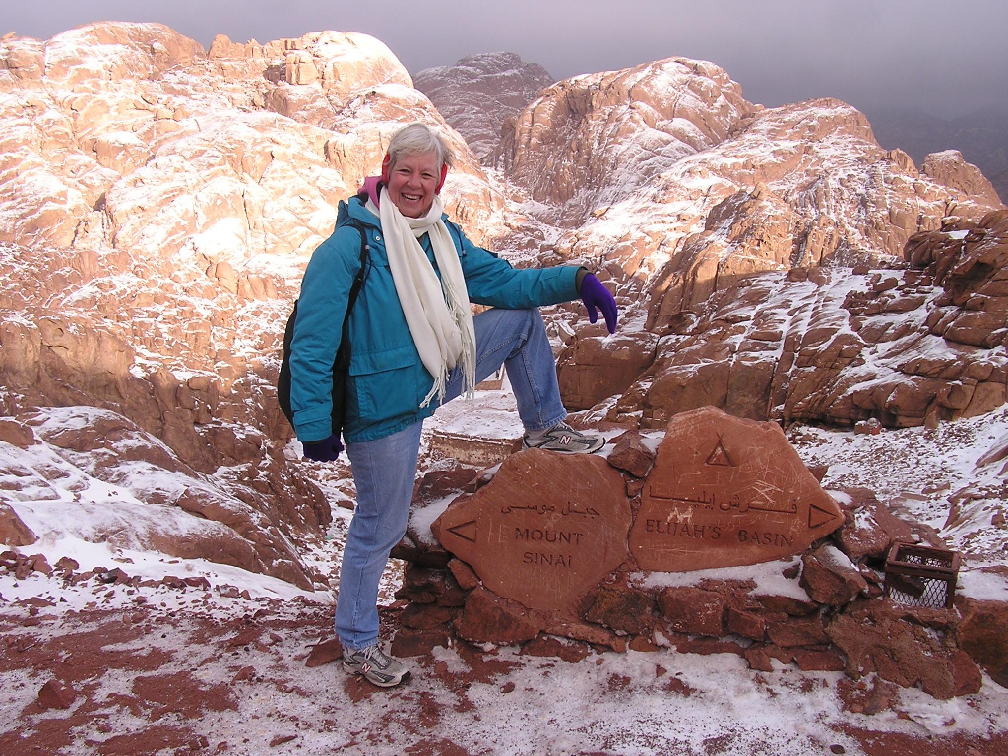 Ann on Sinai rock.jpg
