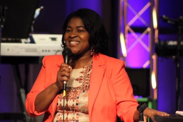 Worship Leader and Speaker, Desovia Robinson