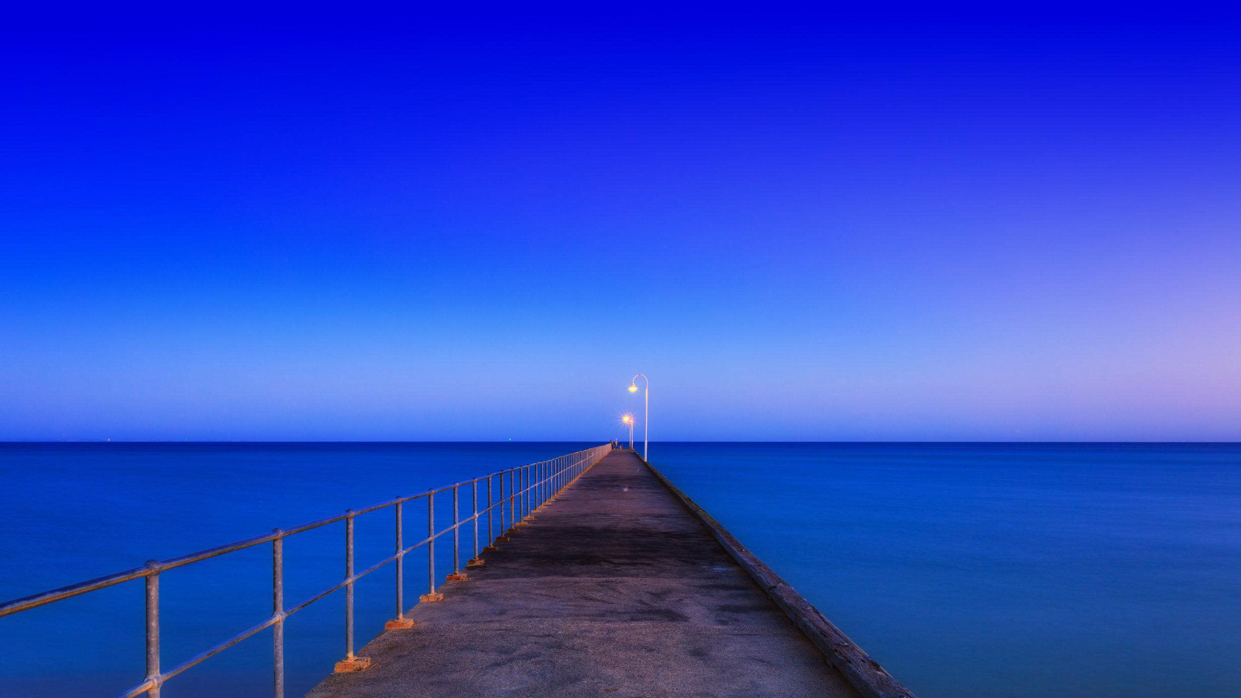 Sunrise at Dromana Pier