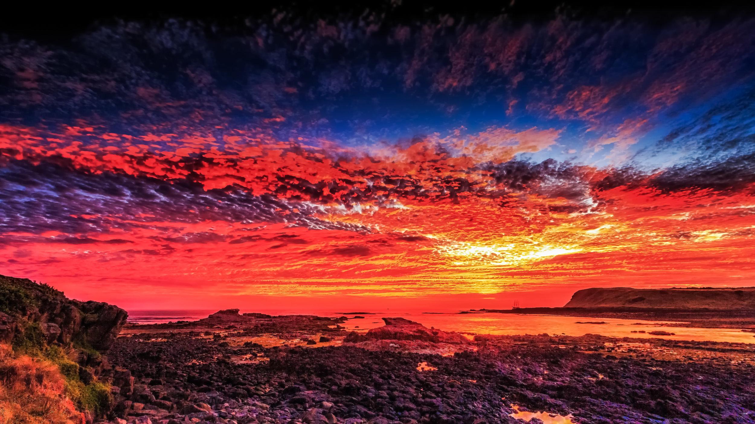 Sunrise at Phillip Island