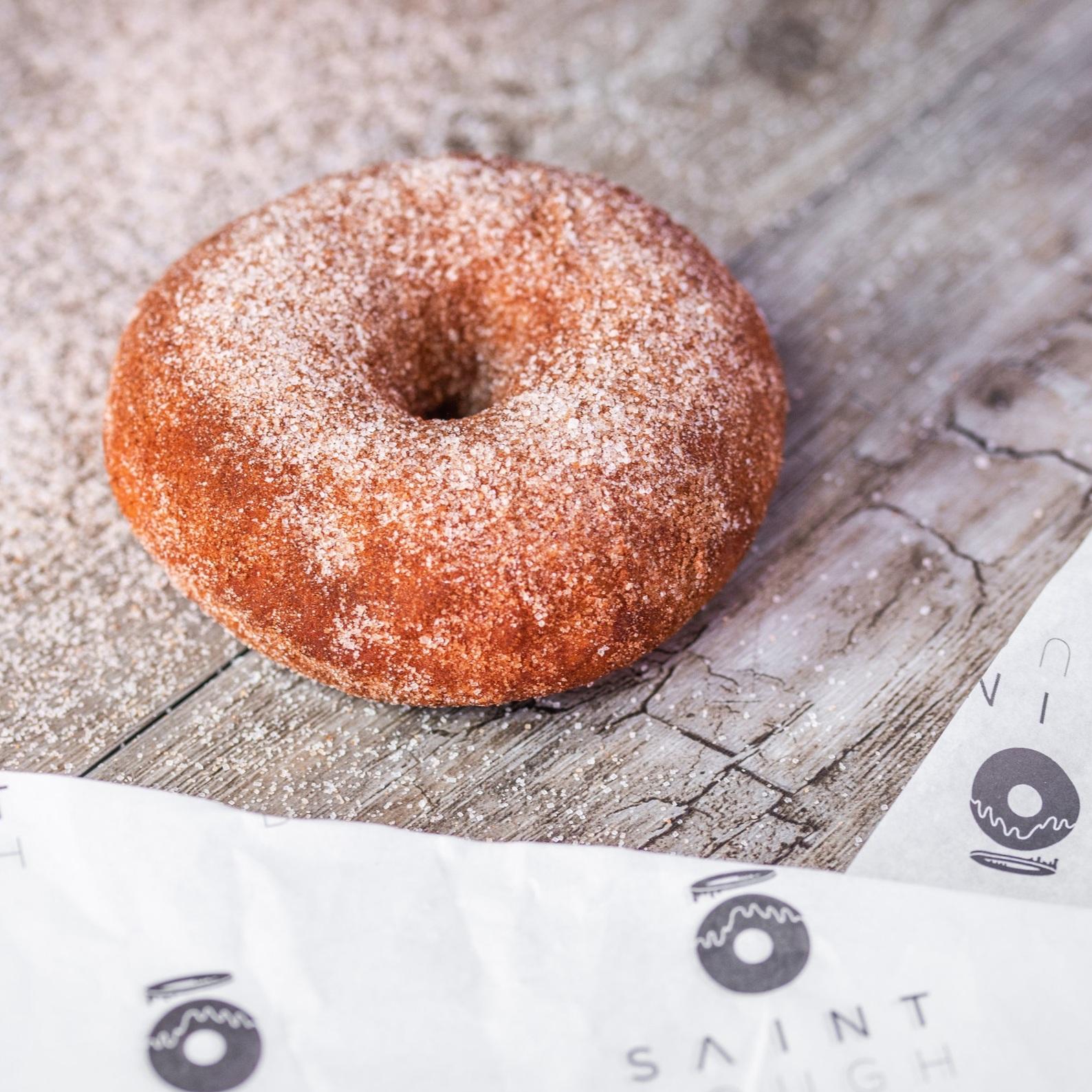 Cinnamon Sugar Ring - Fresh Cinnamon Sourdough covered in Cinnamon and Sugar.*Allergen advice