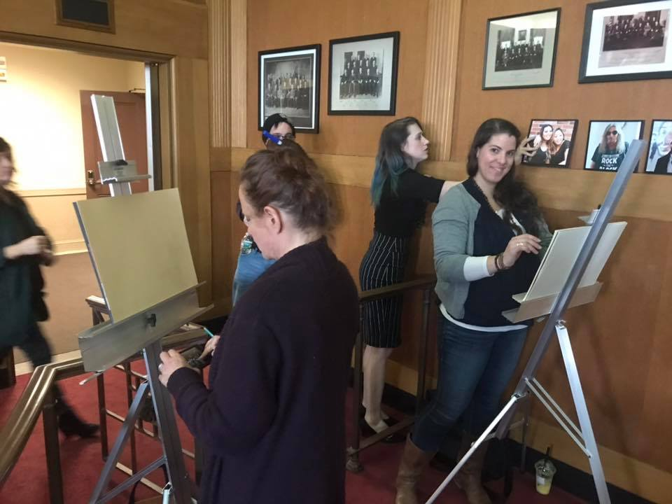 April 30th, 2019 GALA life drawing at City Hall