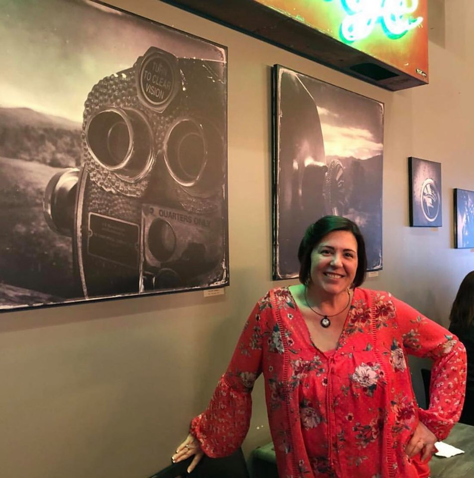 April 28, 2019 Traveling GALA artist meet and greet with Elizabeth Hall at Bent Water Brewery