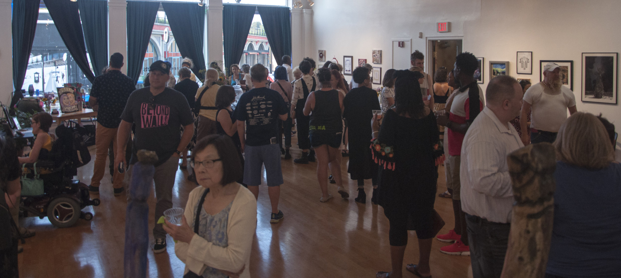 August 2, 2019 Higher Purpose Opening Reception. Photo credit Vacant Skye Photography.