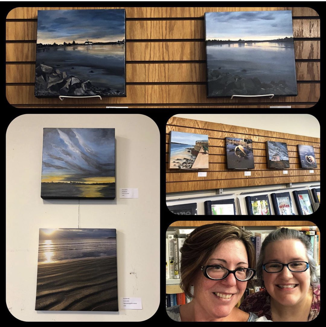 July 11th, 2019 Traveling GALA Elizabeth Hall and Nicole Werth Artist meet and greet. Photo credit Elizabeth Hall.