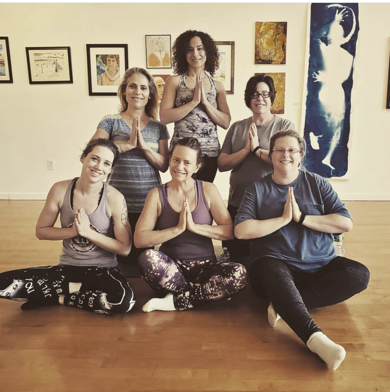 June 22nd, 2019 YOGA in the Gallery with Embody Balance. Photo credit Chialtrography