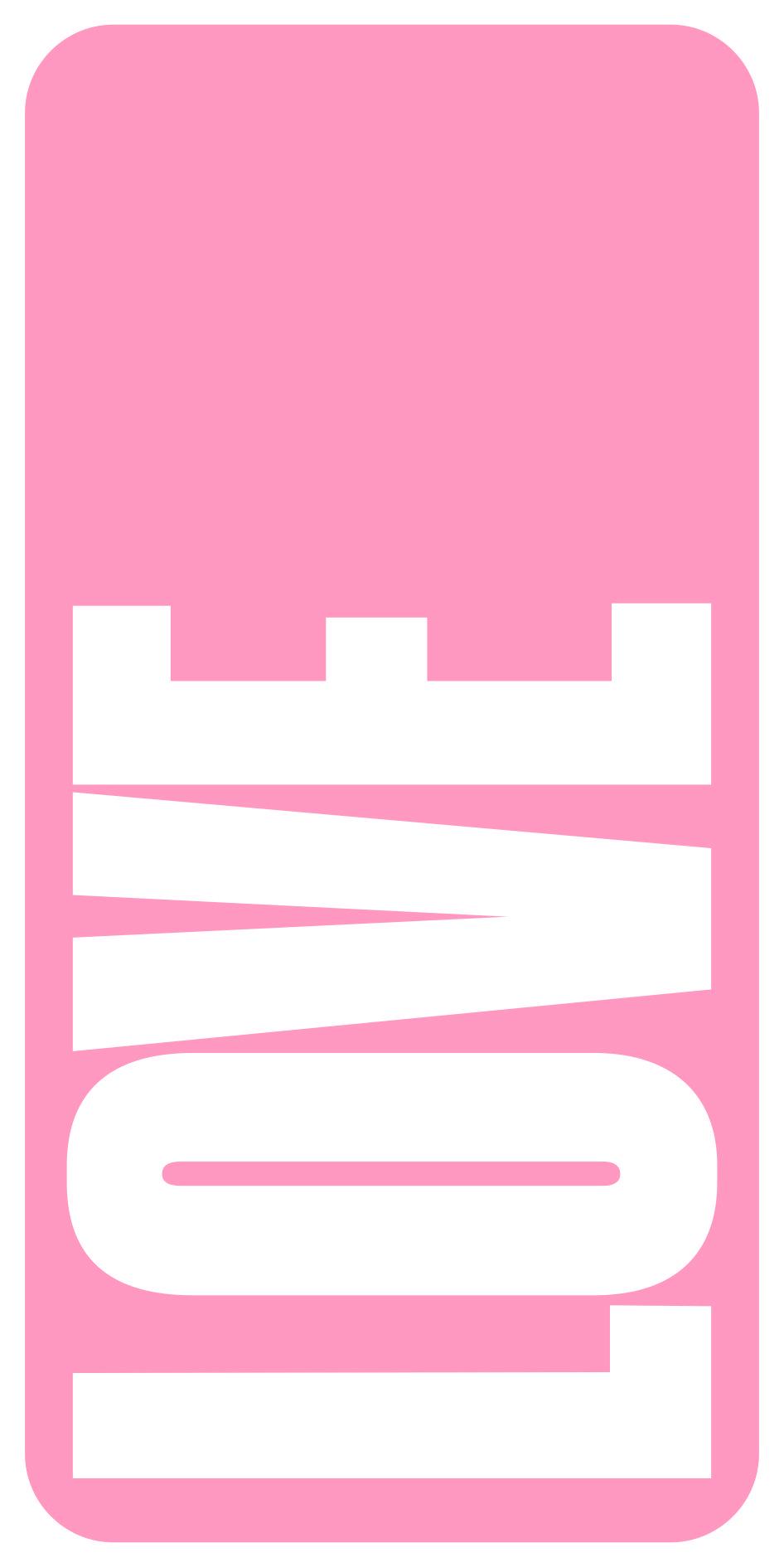 Nombre blanco fondo rosa 006